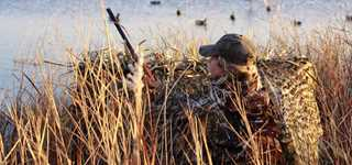 how to make a simple duck blind