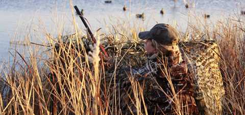 4 Steps To A Simple Temporary Duck Blind