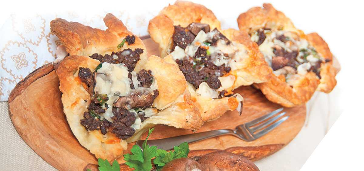 Goose Tarts Free Recipe by Scott Leysath from The Sporting Chef brought to you by Ducks Unlimited!
