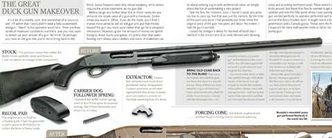 The Great Duck Gun Makeover