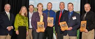 USFWS officers awarded for easement compliance efforts in Prairie Pothole Region.