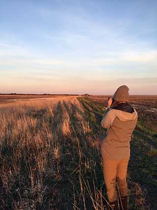 Ducks Unlimited technicians are researching migration habitat in conjunction with the RWB Joint Venture and U.S. Geological Survey.