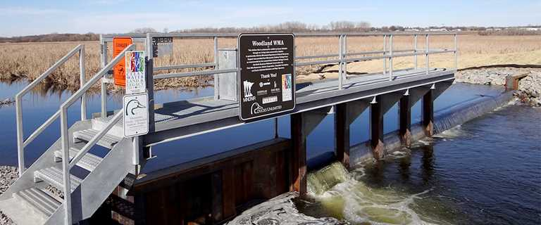 Woodland Wildlife Management Area is set for healthier habitat thanks to new infrastructure.