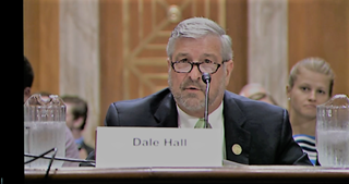 DU CEO Dale Hall at the EPW hearing.