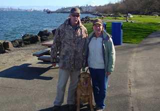 Lundbergs on a visit to Tacoma, WA.
