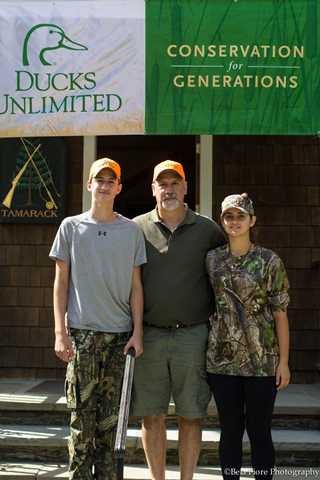 The Langiu family, Tamarack Preserve, Millbrook, NY.
