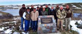 TWRA representatives toured waterfowl habitat projects in Canada.