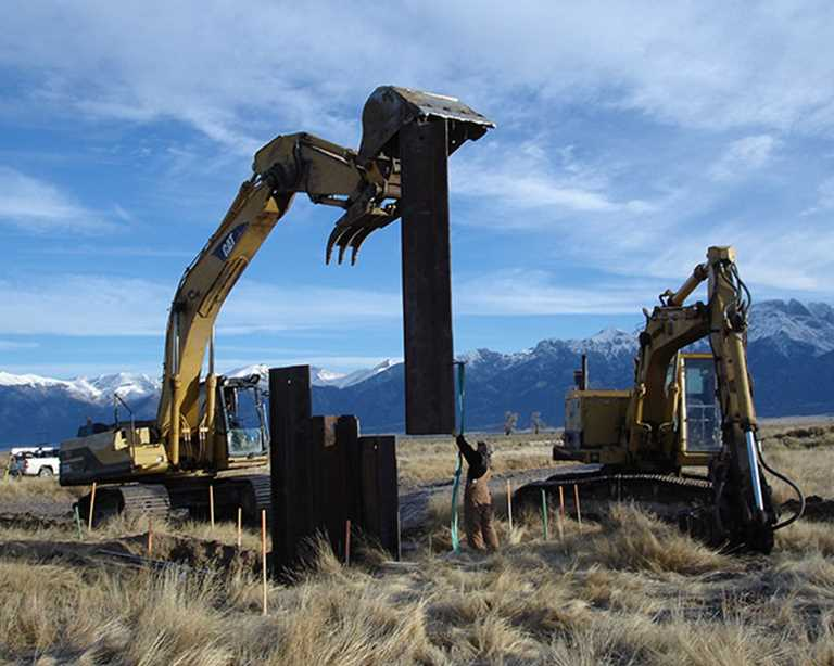 Ducks Unlimited doing restoration work in Baca. The San Luis Valley has long been a DU priority.