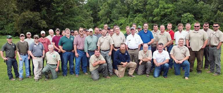 Multi-state wetland review team generated a conceptual management plan at Ballard County Wildlife Management Area in 2017.