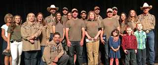 The Gallatin-Madison DU chapter, Bozeman, earned a national President