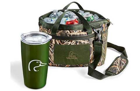 DU Camo Cooler Bag & Tumbler