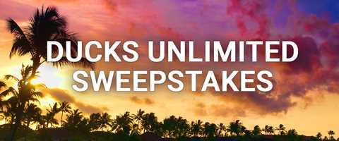 Ducks Unlimited Sweepstakes