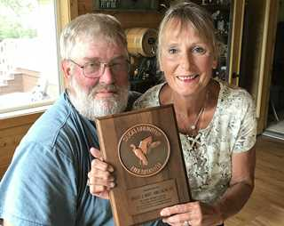 Bruce and Annie Knowlan intend to give a South Dakota property to DU through their estate.