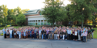More than 185 student volunteers representing 52 Ducks University chapters nationwide flocked to Memphis, Tennessee.