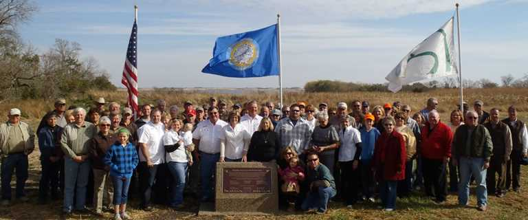 South Dakota Ducks Unlimited volunteers gather for dedication ceremony