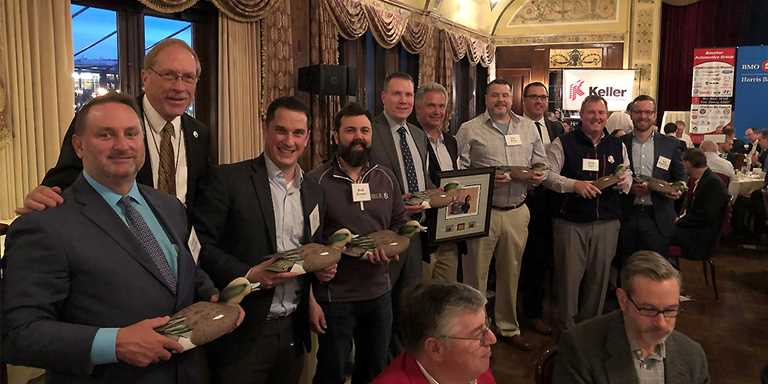 Event underwriters honored for their contributions.