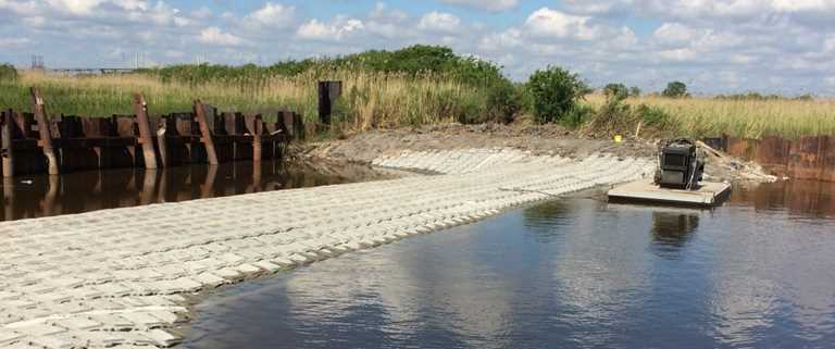 The Lake Street Weir is one of the projects supported by Flint Hills Resources Corpus Christi Refinery.