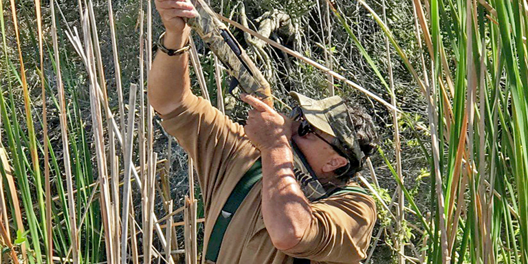 Avid outdoorsman and Feather Society member David Schwarzmeier values DU's continental approach to conservation.