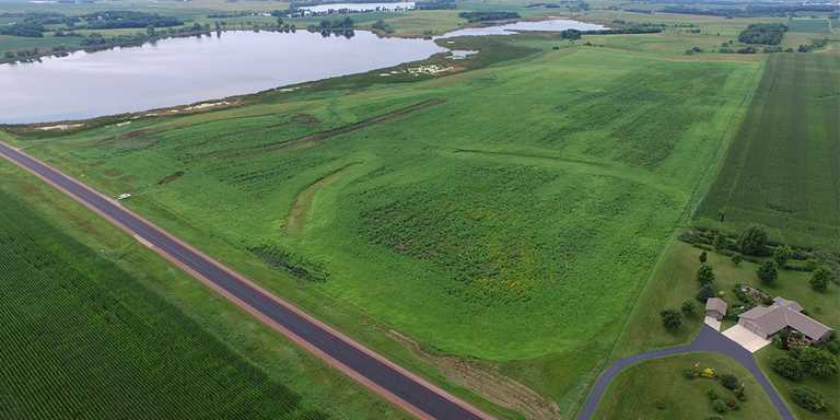 Landowner Brian Richardson sold Ducks Unlimited an 80-acre tract on the Shetek Wildlife Management Area