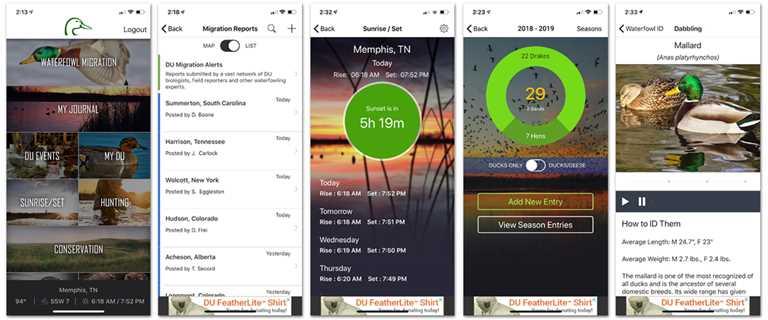 Official Ducks Unlimited App