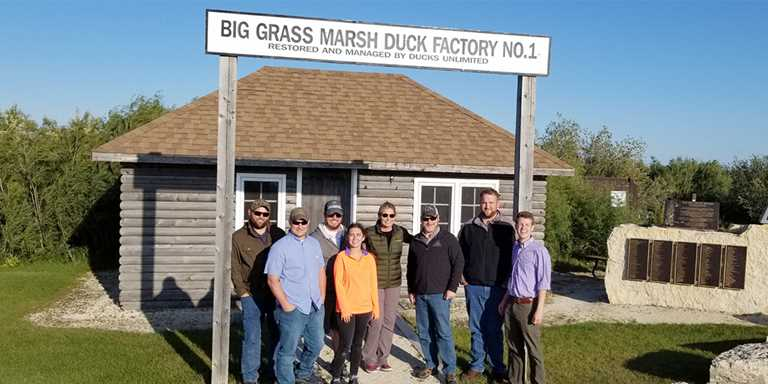 Ducks Unlimited biologists tour Big Grass Marsh, DU