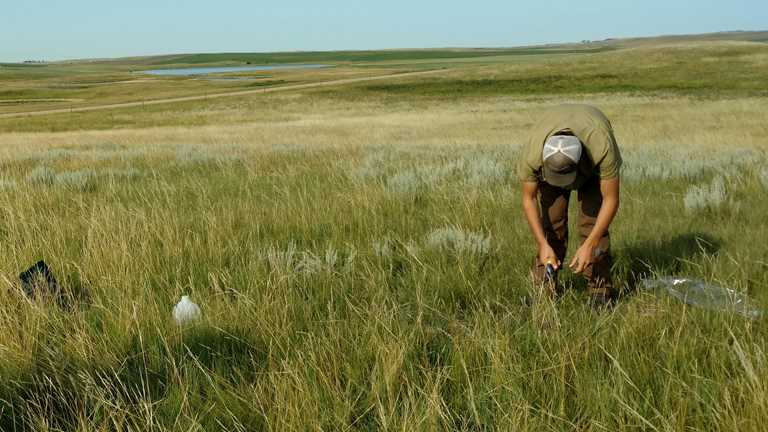 Ducks Unlimited measures soil moisture for producers in the Dakotas.