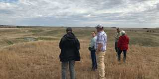DU meets with partners, landowners for site inspection