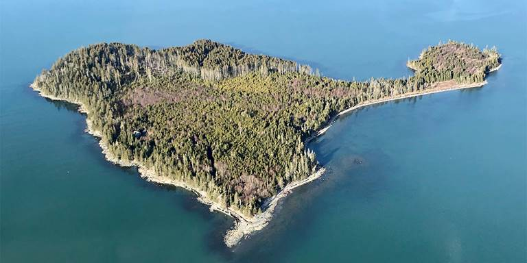Pond Cove Island will be added to Roque Bluffs State Park.