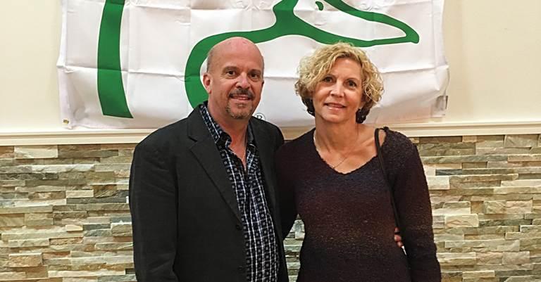 Eric and Lynn Eberhardt enjoying a fun evening raising money for conservation.