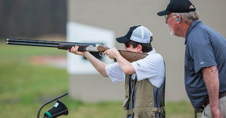 The new DU T.R.A.P. program will help youth shooting teams raise money to cover practice and competition expenses.