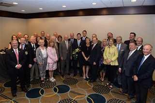 Speaker Paul Ryan pictured with Senior Ducks Unlimited Volunteers, Wetlands America Trust members and DU staff.