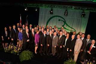 The 2016 Congressional Member Photo from the Annual Ducks Unlimited Capitol Hill Dinner and Auction *not all members in attendance pictured
