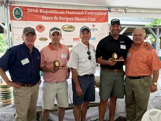 Ducks Unlimited took part in the Stars and Stripes shoot July 19 in Ohio during the Republican convention, sponsored by the Congressional Sp